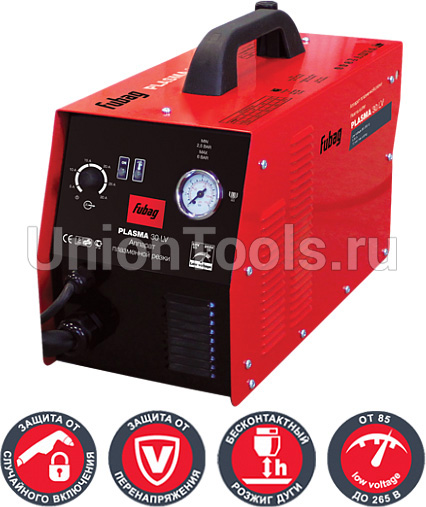 Plasma 30 LV - аппарат для воздушно-плазменной резки металла толщиной до 10 мм