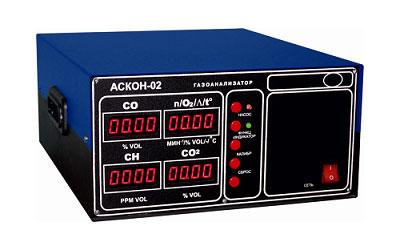 АСКОН-02.44  является двухкомпонентным газоанализатором и применяется для измерения содержания загрязняющих веществ в отработавших газах автомобилей с бензиновыми двигателями не оснащенных системами нейтрализации или оснащенных двухкомпонентными (окислительными) системами нейтрализации (в том числе работающих на альтернативном топливе).