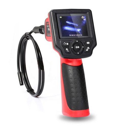 """Цифровой видеоэндоскоп с цветным дисплеем 2.4"""" и полу-жестким зондом, диаметром 8,5 мм"""