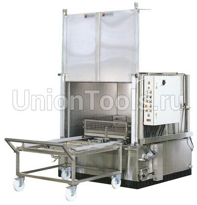 Автоматические моющие машины серии X53 предназначены для мойки крупногабаритных тяжелых деталей весом до 700 кг горячим моющим составом.