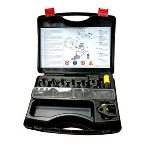Комплект фальш-актуаторов системы Common Rail YDT410 разработан для использования совместно с диагностическими комплектами YDT 278 и YDT 500 и применяется в случае, когда при их помощи обнаружено уменьшение рабочего давления в системе Common Rail.