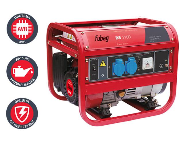 Компактная электростанция для дачи Fubag BS 1100