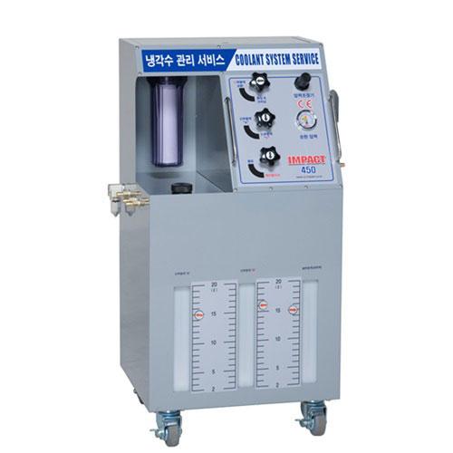 Профессиональная станция для замены охлаждающей жидкости и промывки системы охлаждения