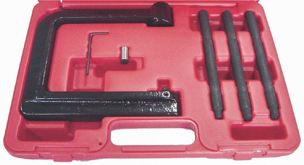 Инструмент для клёпки колодок грузовых автомобилей