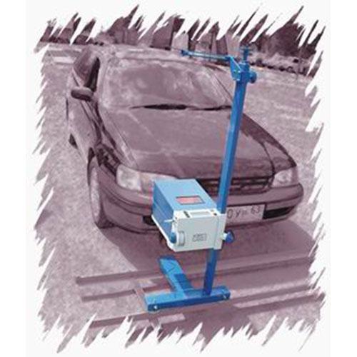 Измеритель параметров света фар автотранспортных средств