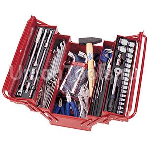 Ящик раскладной с инструментом 103 предмета