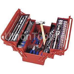 Ящик раскладной с инструментом 88 предметов