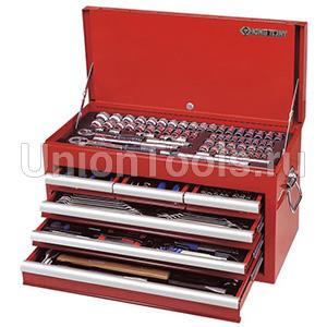Ящик выдвижной с инструментом 219 предметов