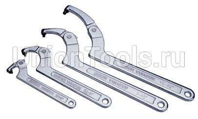 Ключ радиусный шарнирный со штифтом для цилиндрического крепежа в ассортименте