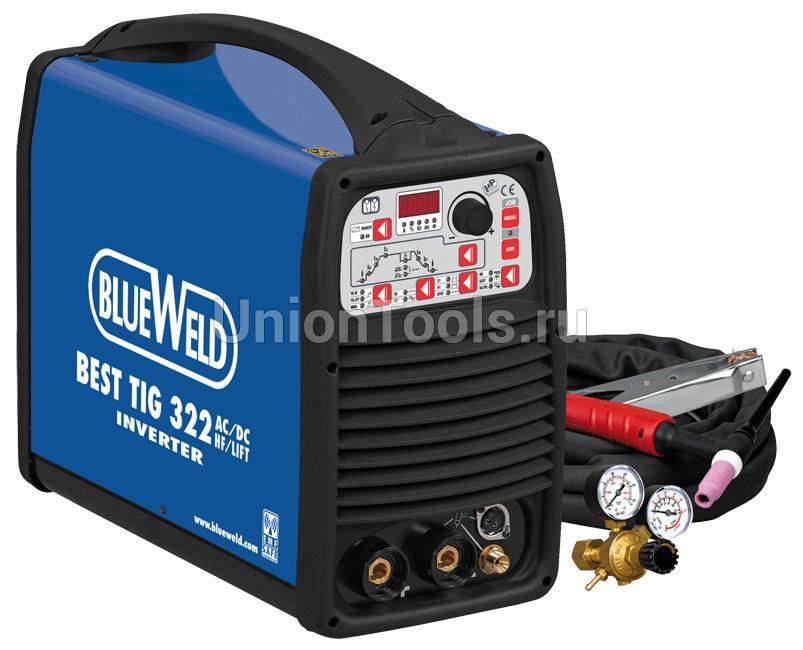 Компактный инверторный сварочный аппарат BEST TIG 322 AC/DC HF/Lift