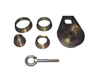 Комплект для вытягивания опорных чашек передних амортизаторов