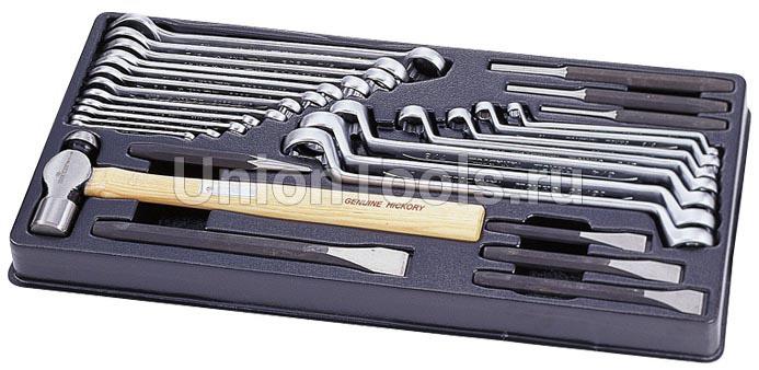 Комплект ключей и ударного инструмента 28 предметов