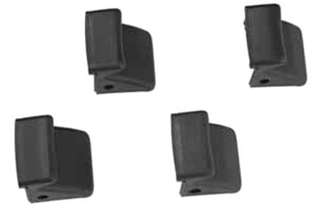 Комплект пластиковых накладок на зажимные кулачки монтажного стола (4 шт.).