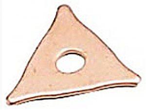 Комплект шайб треугольных (100 шт.)