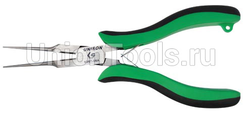 Круглогубцы с полукруглым сечением губок и режущей кромкой 154 мм