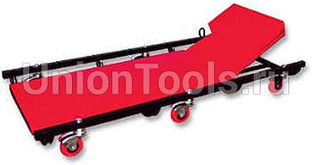 Лежак ремонтный на 6-ти колёсах