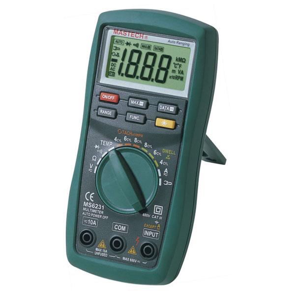 Mastech MS6231 - профессиональный цифровой мультиметр.