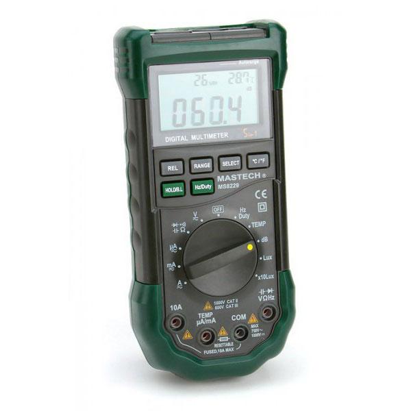 Mastech MS8229 - профессиональный цифровой мультиметр