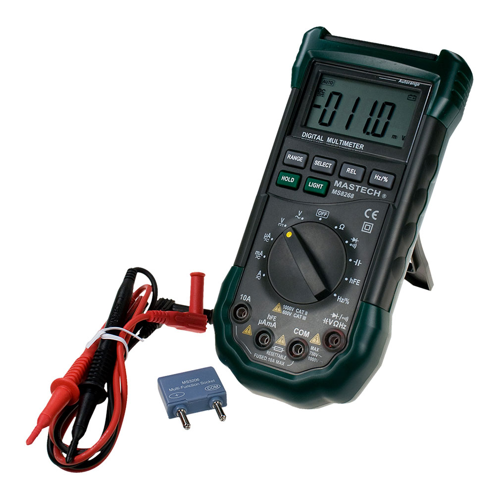 Mastech MS8268 - профессиональный цифровой мультиметр.