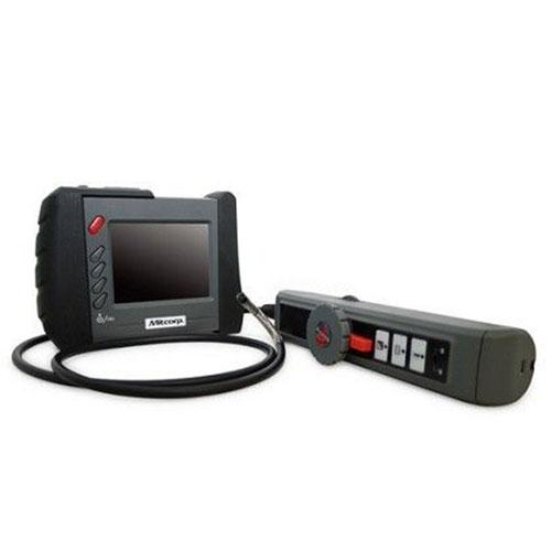 Продвинутый видеоэндоскоп  с цветным дисплеем и аккумулятором и консоль с зондом