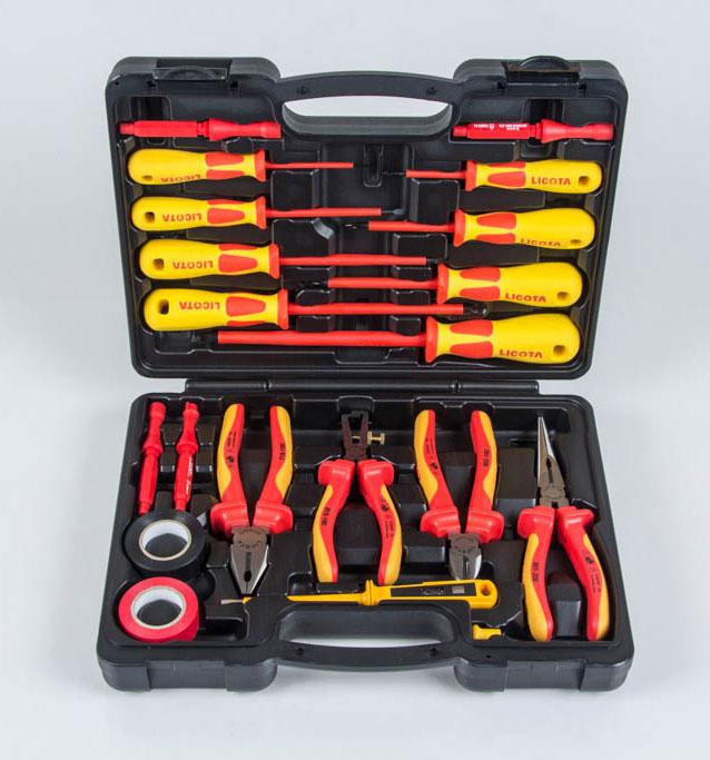 Набор диэлектрических инструментов VDE 19 предметов