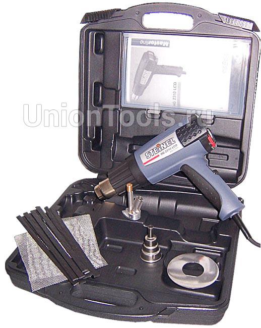 Набор для ремонта бамперов с термовоздуходувкой HG2310LCD в кейсе