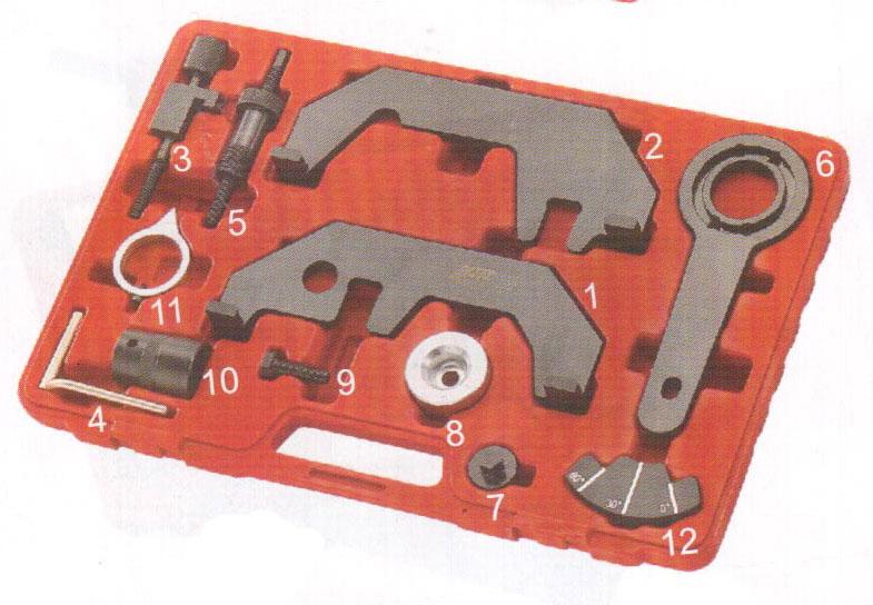 JTC JTC-4169 - Набор для установки и регулировки фаз ГРМ BMW N62, N73