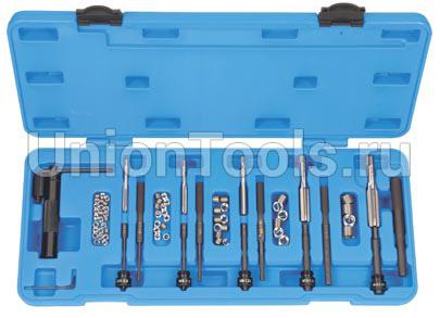 Набор для восстановления резьбы M5, M6, M8, M10, M12 82 предмета