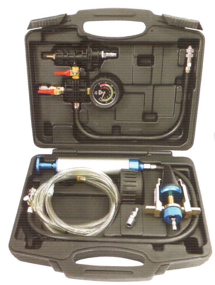 Набор для замены охлаждающей жидкости и тестирования системы охлаждения