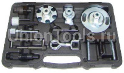 Набор фиксаторов для дизельных двигателей VAG V6 (2.7, 3.0) V8 (4.0, 4.2) со съемником помпы