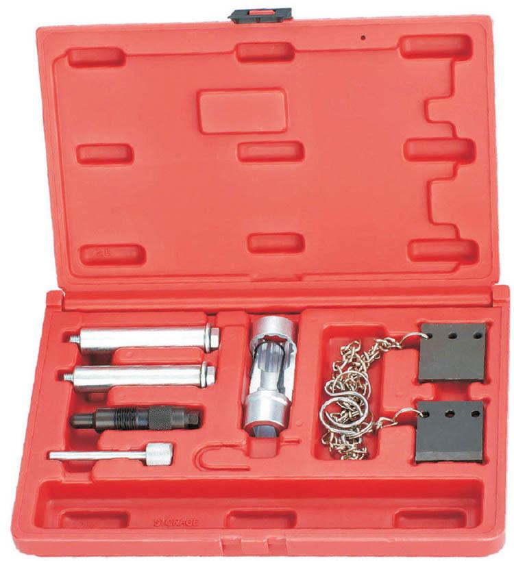 Набор фиксаторов для установки меток ГРМ на дизельных двигателях VAG-группы