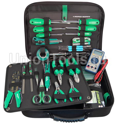 Набор инструмента электрика, 33 предмета