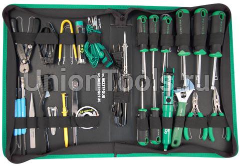 Набор инструмента электронщика, 27 предметов