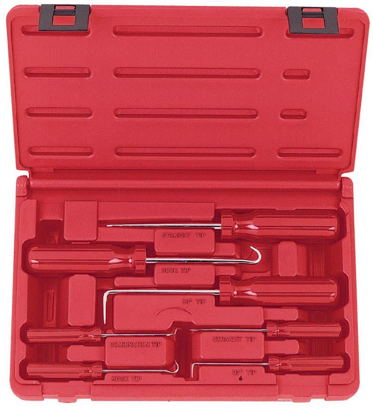 Набор крючков для демонтажа сальников, 7 предметов