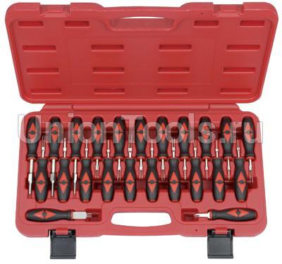 Набор приспособлений для разъединения электроконтактов 23 предметов