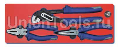 Набор шарнирно-губцевого инструмента 3 предмета