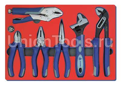 Набор шарнирно-губцевого инструмента 6 предметов