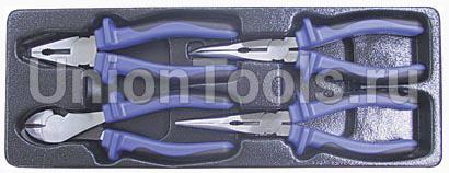 Набор шарнирно-губцевого инструмента 4 предмета