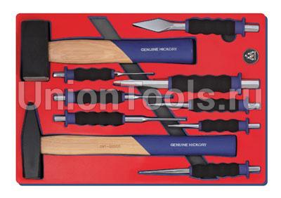 Набор ударно-режущего инструмента 10 предметов