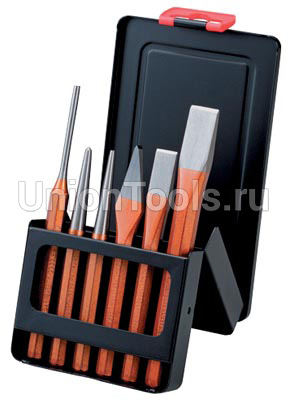 Набор ударно-режущего инструмента 6 предметов