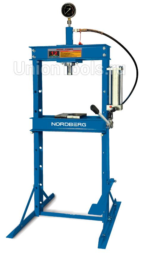 Напольный гидравлический пресс NORDBERG AUTOMOTIVE N3612