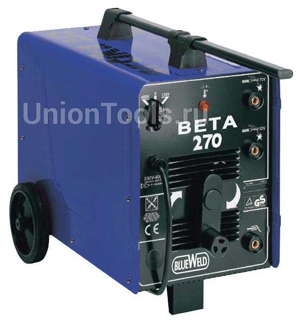 Однофазный передвижной сварочный трансформатор BETA 270