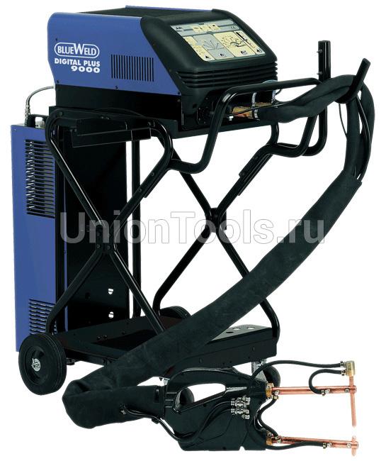 Однофазный электронный сварочный аппарат точечной сварки DIGITAL PLUS 9000 R.A.