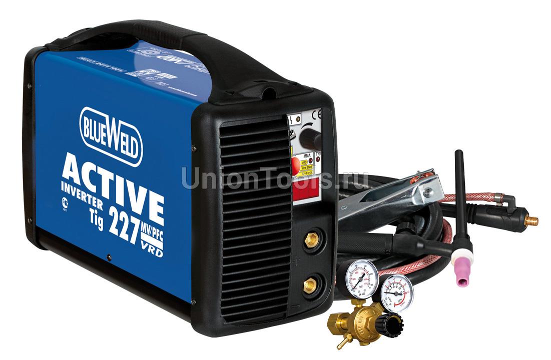 Однофазный профессиональный инвертор Active Tig 227 MV/PFC DC-LIFT VRD