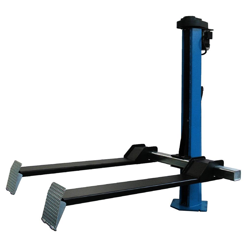 Подъемник одностоечный электромеханический, г/п 800 кг, высота подъема 1800 мм