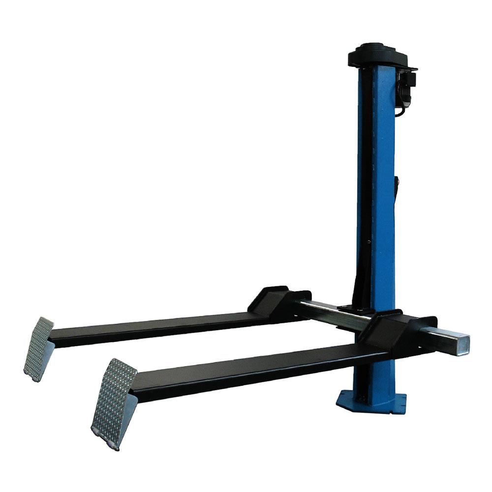 Подъемник одностоечный электромеханический, г/п 1200 кг, высота подъема 1800 мм.