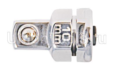 Переходник под ключ с трещоткой 10 мм. для торцевых головок 1/4