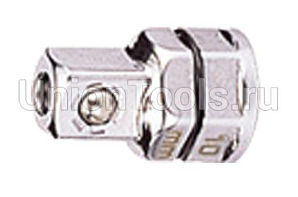 Переходник под ключ с трещоткой 19 мм. для торцевых головок 1/2