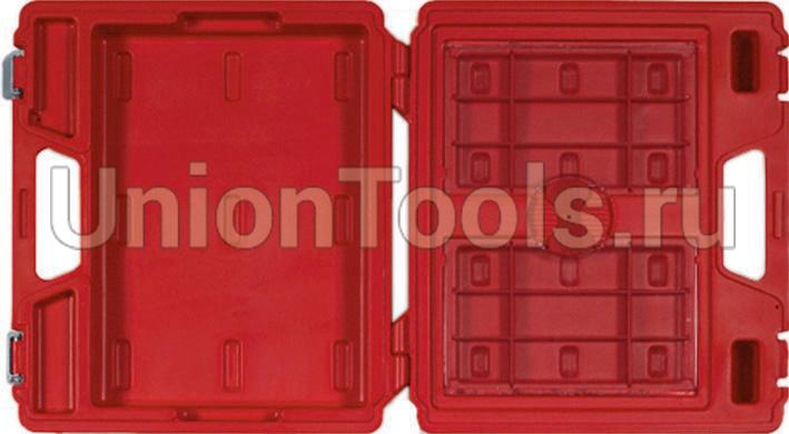 Пластмассовый кейс для инструментов в лотках