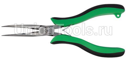 Плоскогубцы тонконосые загнутые 154 мм